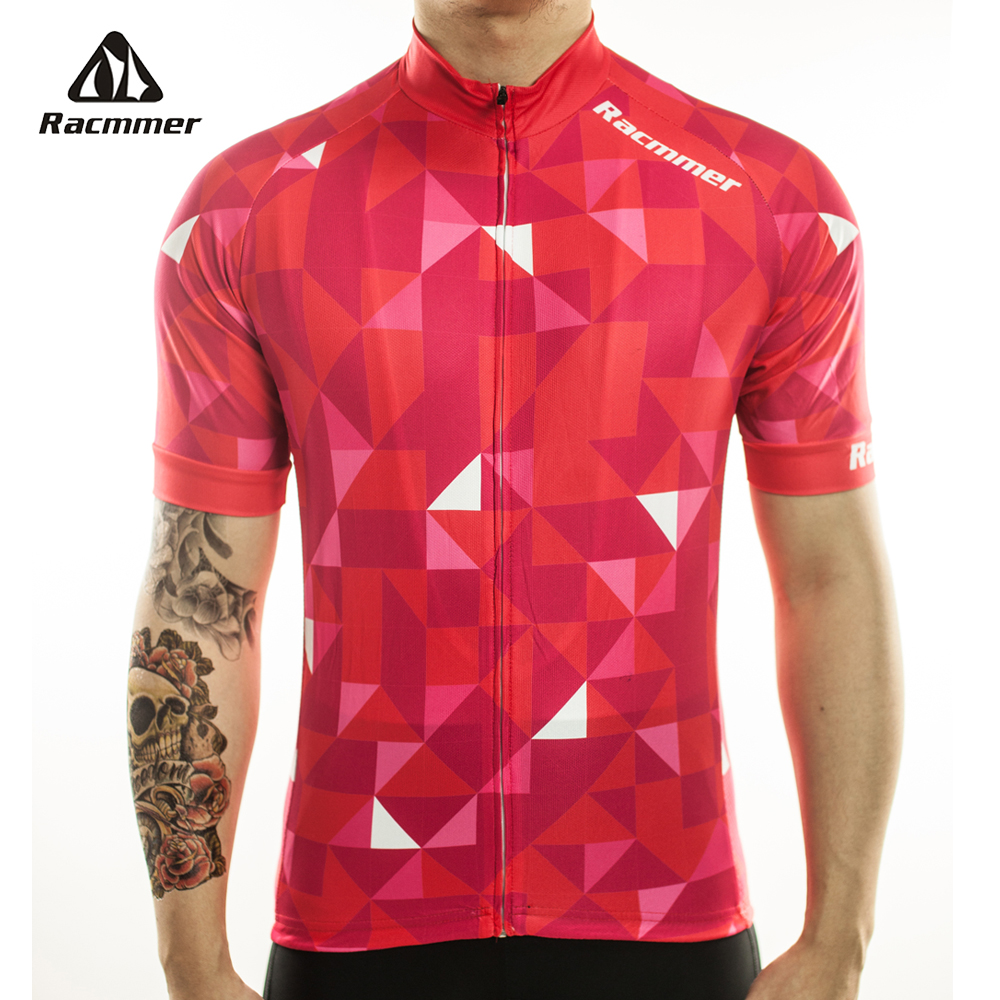 Racmmer 2019 Cycling Jersey Mtb Bicycle Clothing Bike Wear Clothes Short Maillot Roupa Ropa De Ciclismo Hombre Verano #DX-10