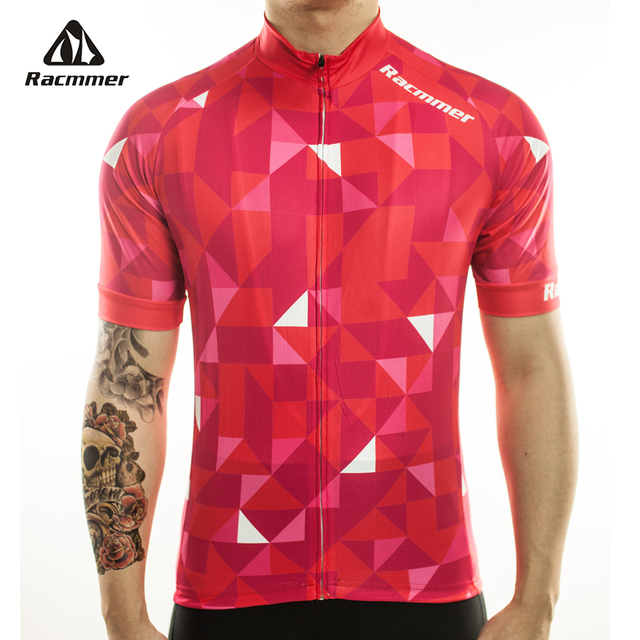 Racmmer 2017 Cycling Jersey Mtb Bicycle Clothing Bike Wear Clothes Short Maillot Roupa Ropa De Ciclismo Hombre Verano #DX-10