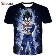 Men 3D Print T shirt Dragon Ball Z Anime Casual Tee Shirts Fighting Vegeta Graphic Man Tops dragon ball t
