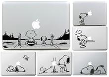 Чарли Браун и Собака для apple Наклейки Macbook Кожи Air 11 12 13 Pro 13 15 17 Retina Наклейка Loptop Стены Винила Автомобиля Логотип