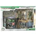 Набор комбинированных передвижных военных моделей  набор игрушек для детей  игровой комплект для мальчиков