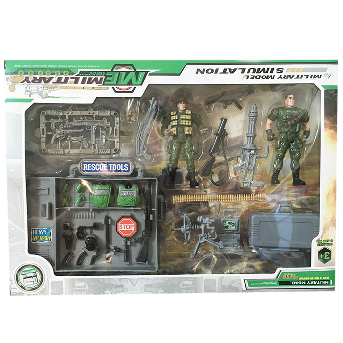 Joint Movable Special Forces Military Model Kit Simulation CS Soldier Toy Set For Children Playing Kit Christmas Toys For Boy