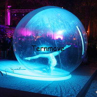 Надувной шар для ходьбы по воде для танцевального шоу танцевальный шар для детей/Взрослый надувной шар для девочек на сцене танцы