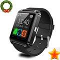 Original bluetooth smartwatch smart watch u8 u relógio para ios iphone samsung sony huawei xiaomi android telefones bom pk gt08 DZ09
