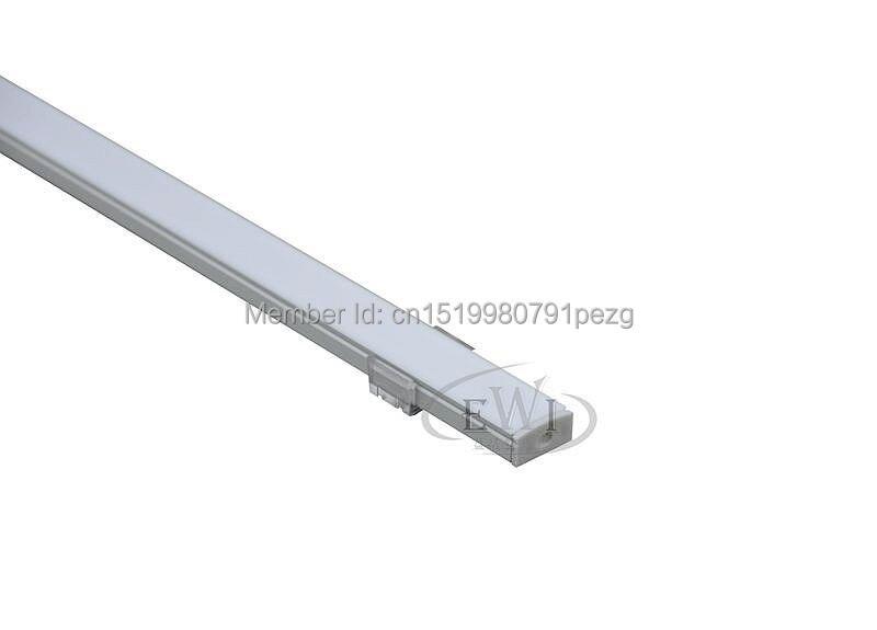 100 X 1M dəstləri / Lot Yaxşı keyfiyyətli alüminium profil - LED işıqlandırma - Fotoqrafiya 4