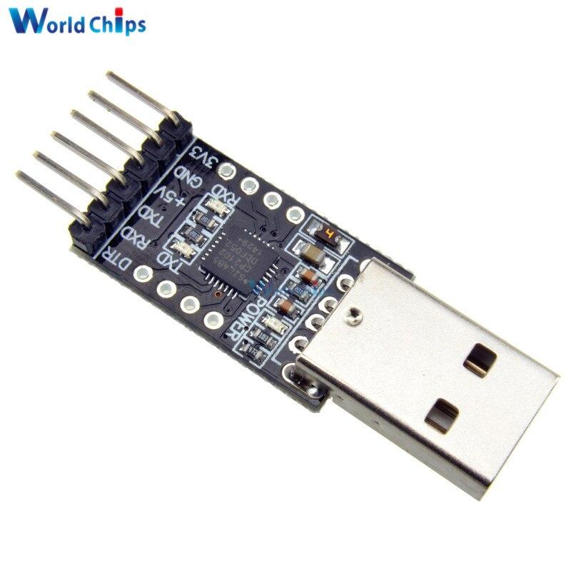 Модуль CP2102 USB 2,0 в TTL UART, 6-контактный последовательный преобразователь STC, замена адаптера FT232, модуль питания 3,3 В/5 В для Arduino, высокое качество