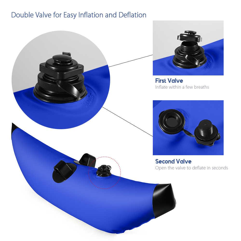 Estabilizador de disparador inflable flotador de agua flotador de PVC disparador inflable para flotador de pie de barco de pesca Canoe