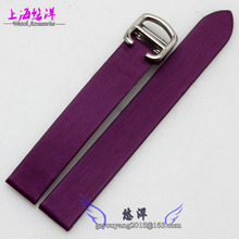Durable Genuine Leather Deployant Watch Band Strap Buckle Bracelet Watchbands 14mm