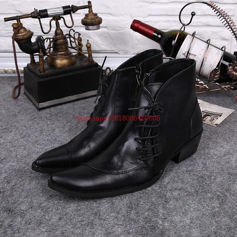 Popular Cowboy Boots Men-Buy Cheap Cowboy Boots Men lots from ...
