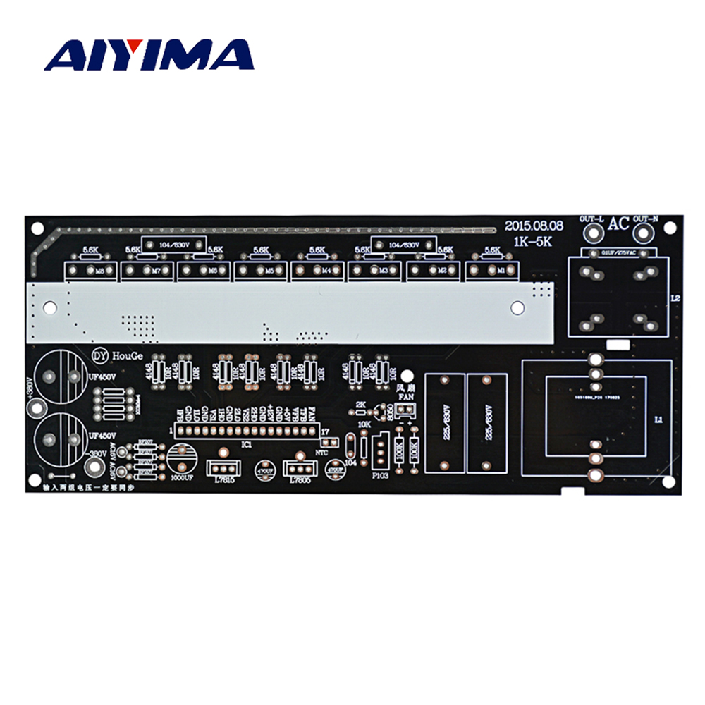 Aiyima 1000W 2000W 3000W Pure Sine Wave Inverter Modified Sine Wave Post Amplifier Bare PCB цена