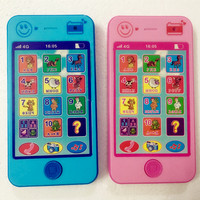 Free Shipping Children S Educational Simulationp Music Mobile Phone 4G The Latest Version Of Russian Language