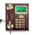 Antigüedad de La Vendimia de Teléfono Fijo europea Con IDENTIFICADOR de Llamadas Con Cable de Línea Fija de Teléfono Para El Hogar Oficina de Negocios Teléfonos De Casa