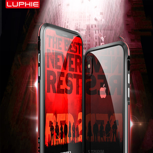 Image 3 - Luphie מעוקל מתכת פגוש עבור Samsung Galaxy הערה 9 מקרה הערה 8 עבור iphone X Xs Max Xr 8 7 בתוספת אולטרה דק אלומיניום מסגרת כיסוי
