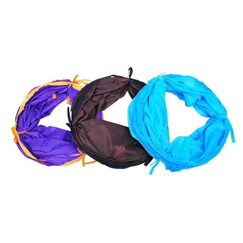 1 pc Pet Rolling Toy Cat Nest Tent S type Collapsible Tunnel Toy Exercise Playground For Rabbits Kittens Ferrets in Tubes Tunnels from Home Garden