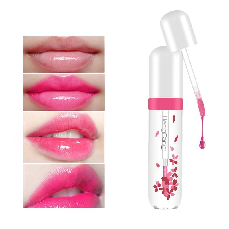 Fashion Temperature Change Lip Gloss Moisturizing Waterproof Long-Lasting Liquid Lipstick Lip Glaze 4