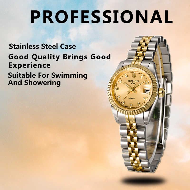 Holuns Women Watches 2019 Ladies Brand Luxury Gold Female Quartz ...