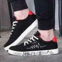 Men S Autumn And Winter Sports Shoes Korean Student Joker Canvas Shoes Classic Design Print Totem