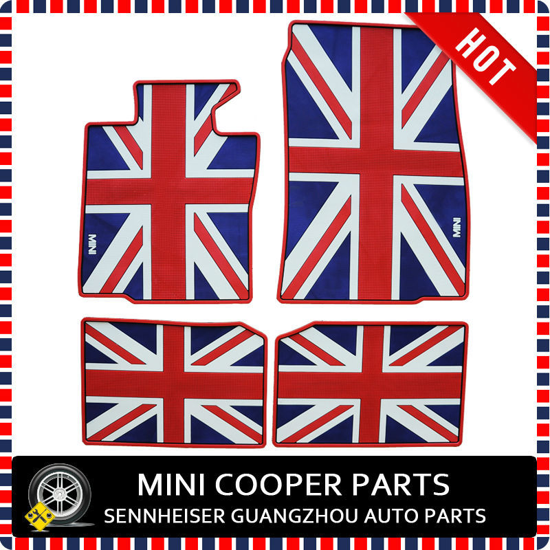 Brand New Rubber Material Big Union Jack Style Foot Mat