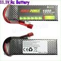 Construção Original de Energia Li-Polímero Bateria Lipo 3 S 11.1 V 1100 mah 1300 mah 1500 mAh 1800 mah Max 40C para Barco Carro RC Quadcopter FPV