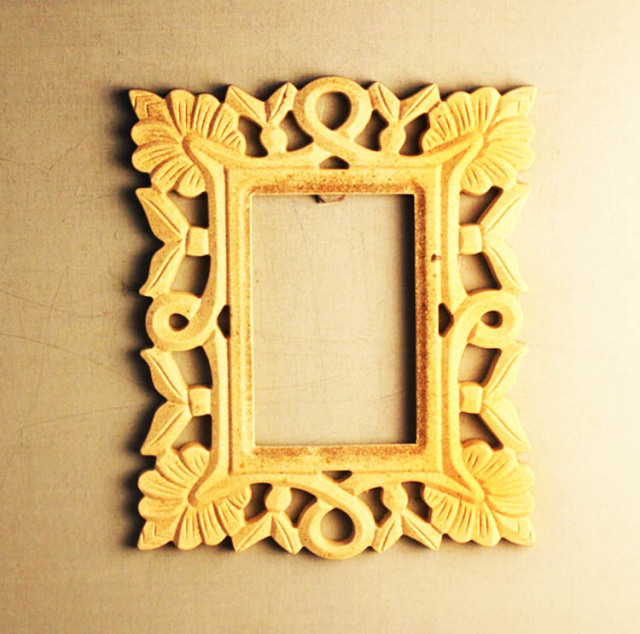Diy wood craft carving unfinished floral pierced border photo frame diy wood craft carving unfinished floral pierced border photo frame kids fit do it yourself home solutioingenieria Gallery