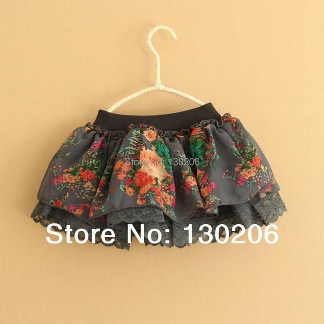 Baby girls Ball Gown Skirts summer Country style chiffon tutu cute Korean girls fashion mini skirts