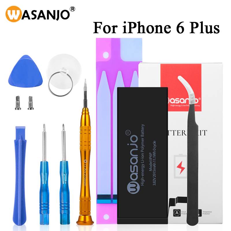 Wasanjo With Instructions Rechargeable Battery For Iphone 6 Plus 6p