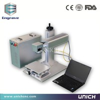 CE Standard 20w 30w 50w Laser Marking Machine For Pigeon Rings