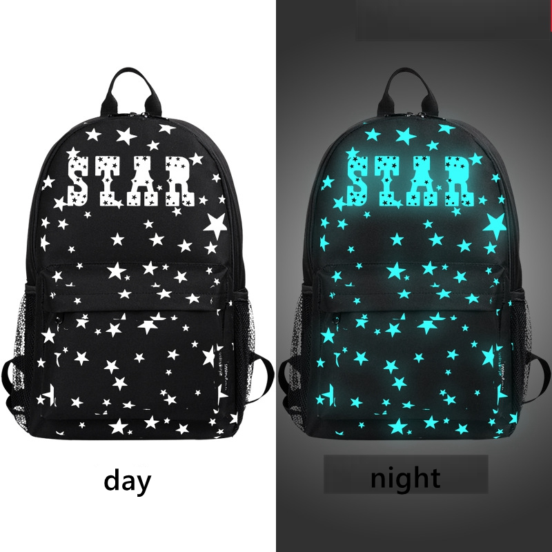 Luminous School Backpacks Teenagers Boys Girls Bags Backbags Children Compurter Book Waterproof Backbags Computer travel bags