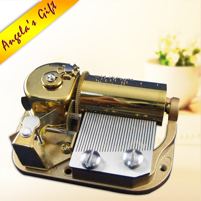 30 Notes Luxury Music Box Mechanism Musical Movements Unusual Gifts For Christmas Birthday