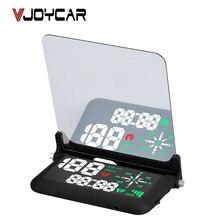 """VJOYCAR Uniwersalny 4 """"Samochodów HUD Wyświetlacz Head UP Cyfrowy Alarm Przekroczenia Prędkości GPS Prędkościomierza Szyby Projektor Z Uchwytem"""