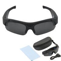 1set FULL HD 1080P Mini Camera Polarized Sunglasses Digital Video Recorder Glasses Sport Camcorder Outdoor Cam