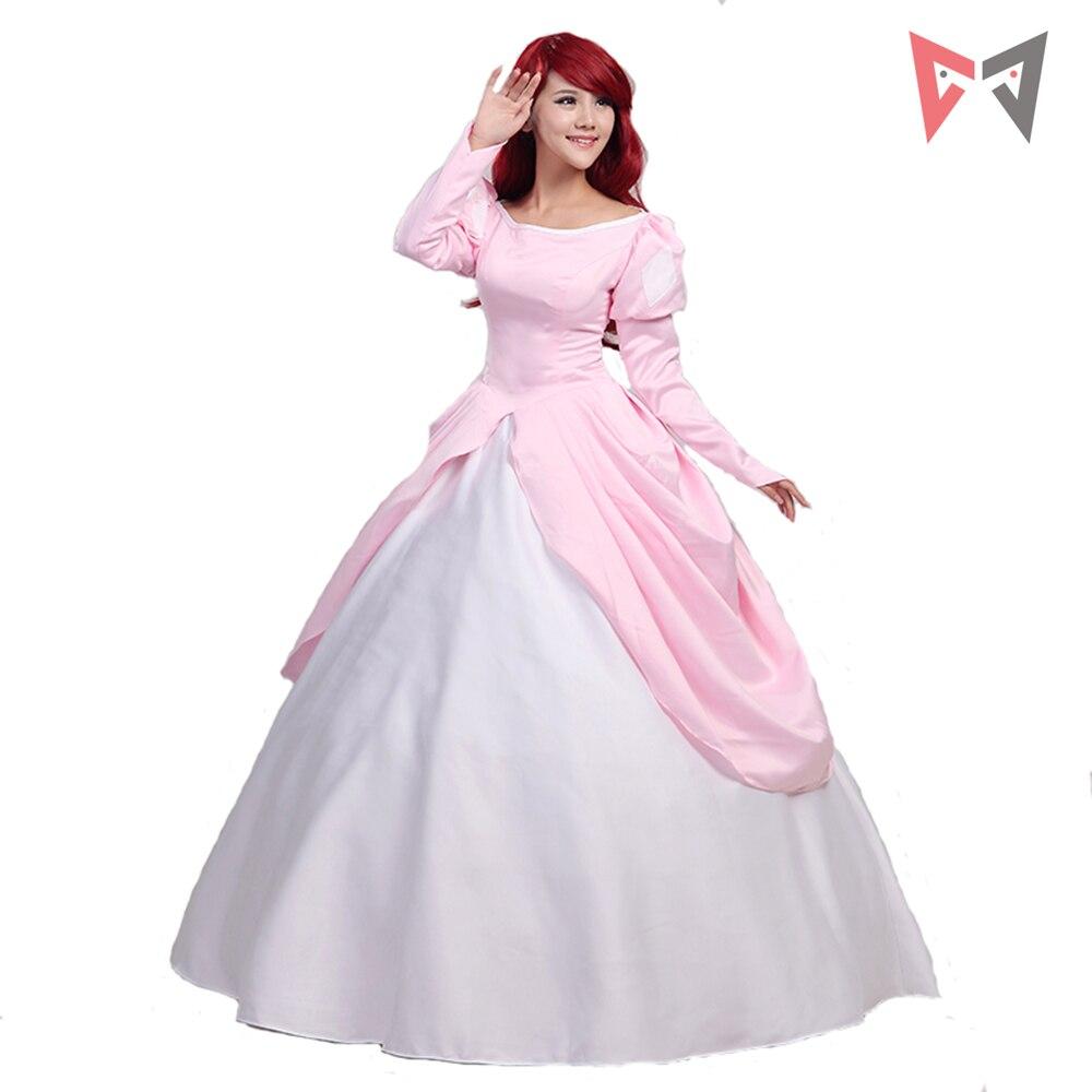 Perfecto Vestido De Novia De Disney Ariel Bandera - Colección de ...