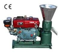 Electric Start Diesel Engine KL150A Pellet Mill Feed / Wood Pellet Mill Machine