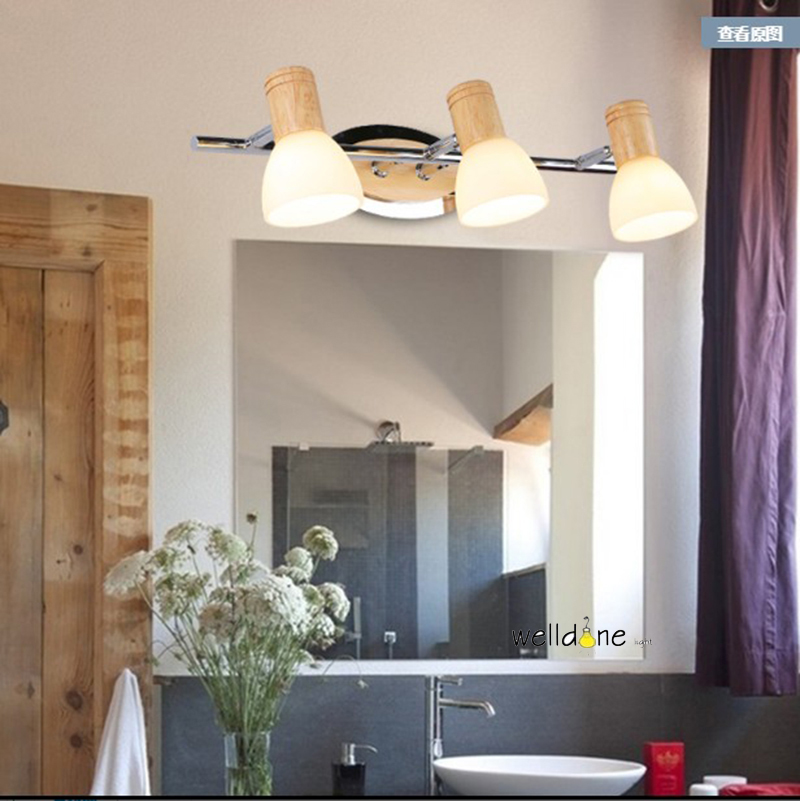 LED bathroom vanity wall mounted lamp waterproof antifogging glass lamp modern style AC85-265V