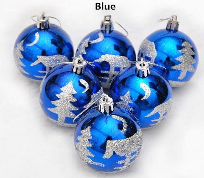 interesting tienda online nueva bronceado pvc con pinturas pintado bolas navidad cm azul rojo oro rojo mix para rboles de navidad bolas