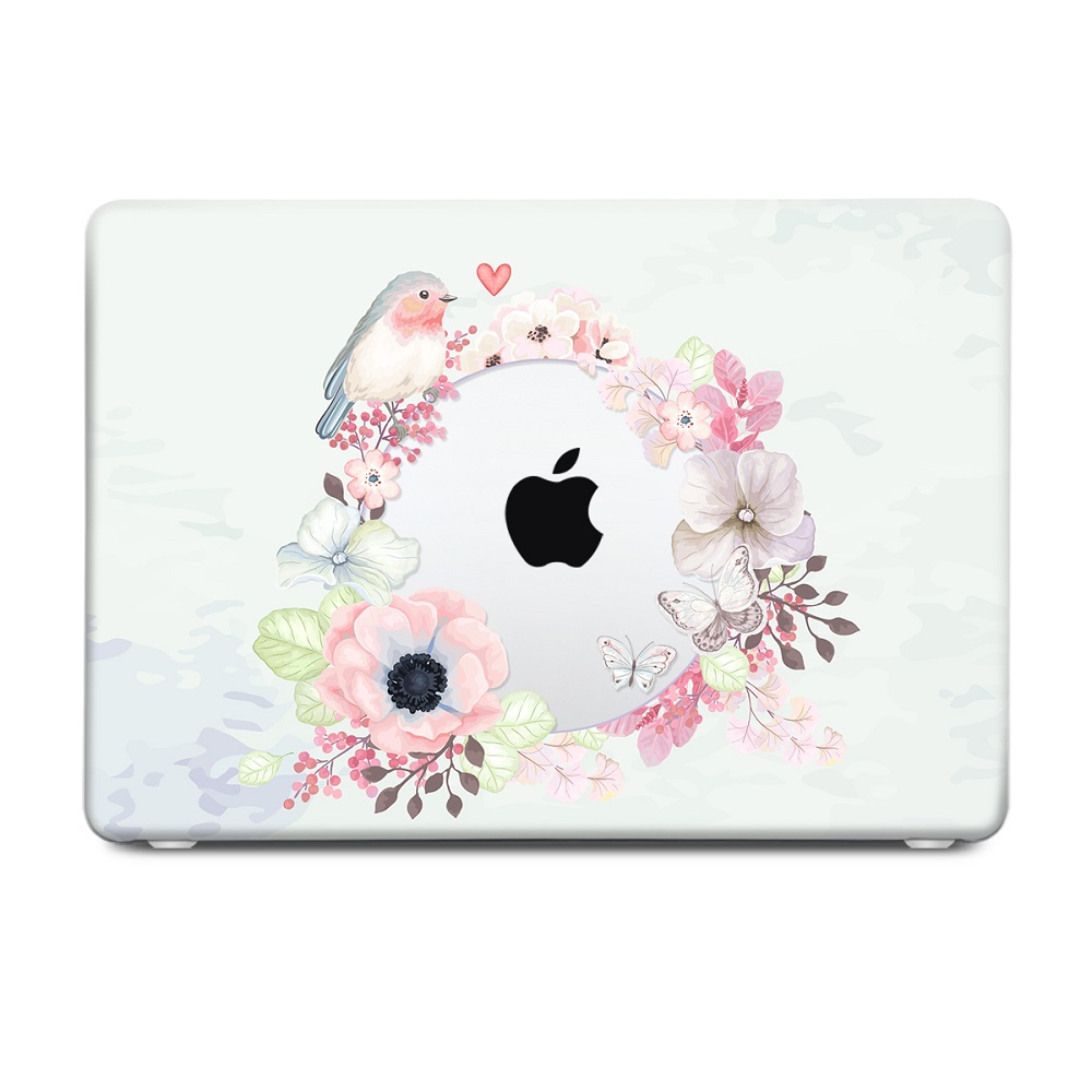 Floral Printing Hard Case for MacBook 119