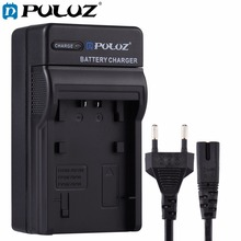 PULUZ EU Plug Battery Charger w/h Cable For Sony NP-FH50/70/100  NP-FP50/70/90  NP-FV50/NP-FV70/90 battery for Sony HDR-CX500E