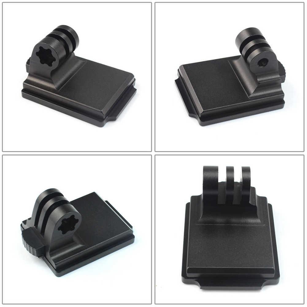 Быстросъемный черный шлем алюминиевый удобный держатель для камеры Адаптер легко использовать фиксированное Крепление подставка для Gopro Hero