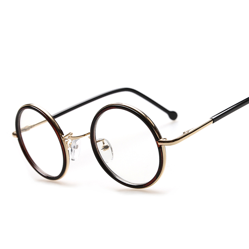 retro vintage round glasses frame brand designer fashion circle eyeglasses elegant optical frame oculos de grau