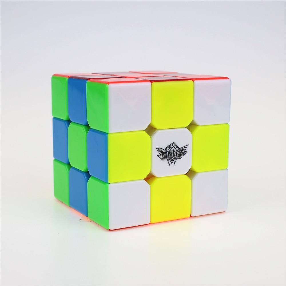 Topan Anak Laki-laki 3x3x3 Profissional Magic Cube Kompetisi - Permainan dan teka-teki - Foto 6