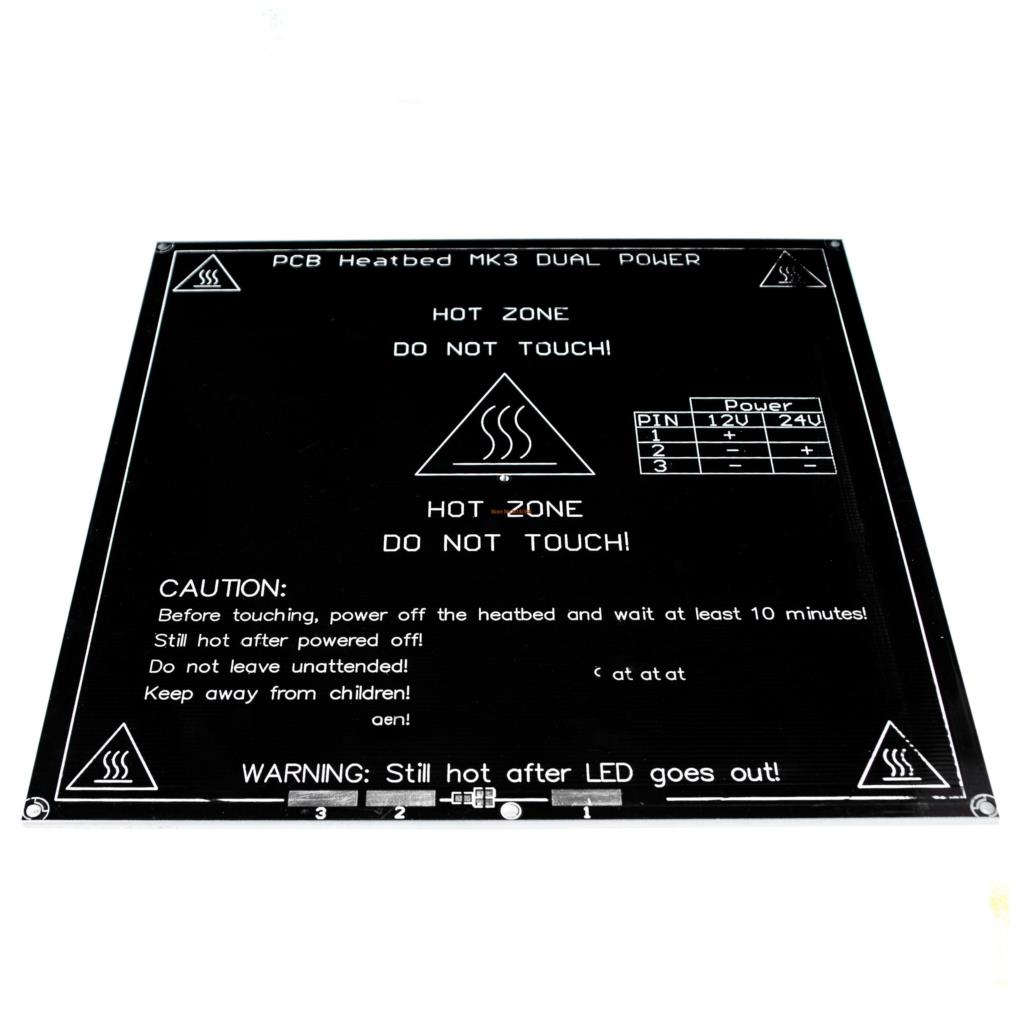 Provided Integrated Circuits 3d Printer Mk3 Standard Aluminum Plate 3mm Hot Bed Reprap Electronic Components & Supplies