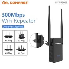 Comfast  WIFI Repeater Router 300M 10dBi Antenna Signal Booster Wireless-N wi fi Repeater 802.11N/B/G Network  Wireless Roteador цены онлайн
