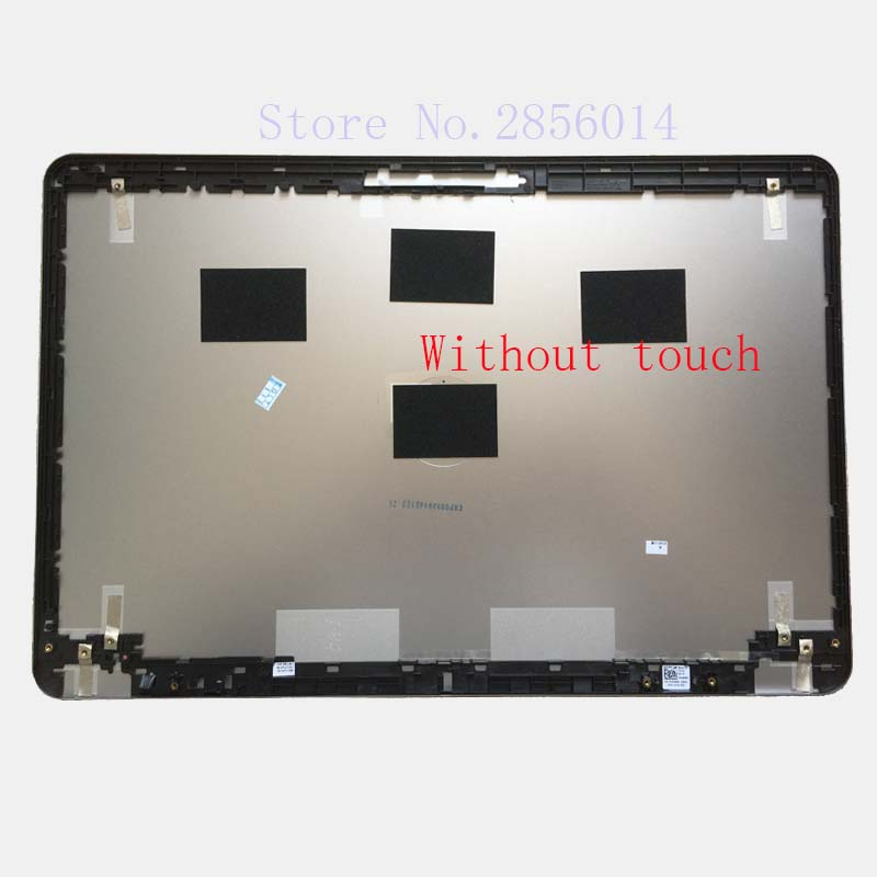 New case For Dell Inspiron 15-7000 15 7537 TOP LCD BACK COVER without touch backlit us new laptop keyboard for dell inspiron 15 7537 7000 p36f 7537 sliver