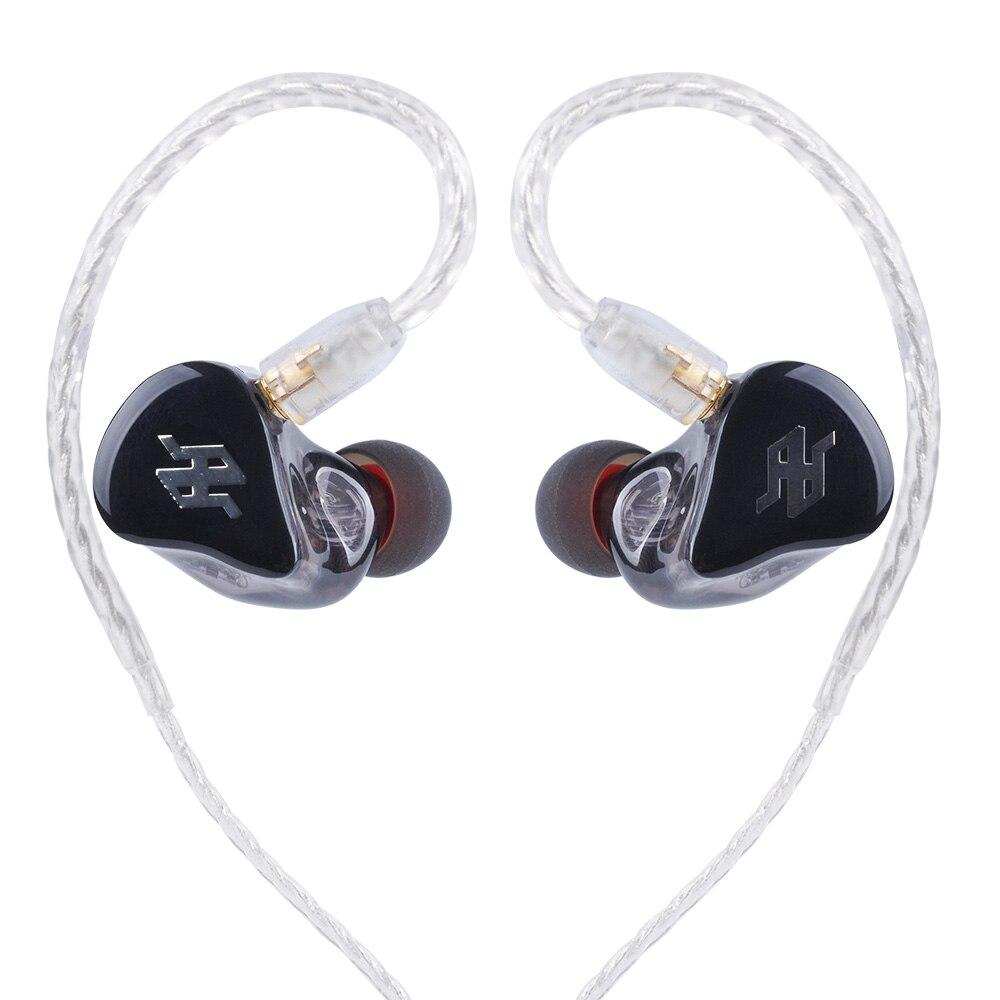 TENHZ P4 PRO Dans L'écouteur D'oreille 4BA Unité D'entraînement 4 Armature Équilibrée HIFI Dans Le Suivi De L'oreille Écouteurs Avec Détachable MMCX câble