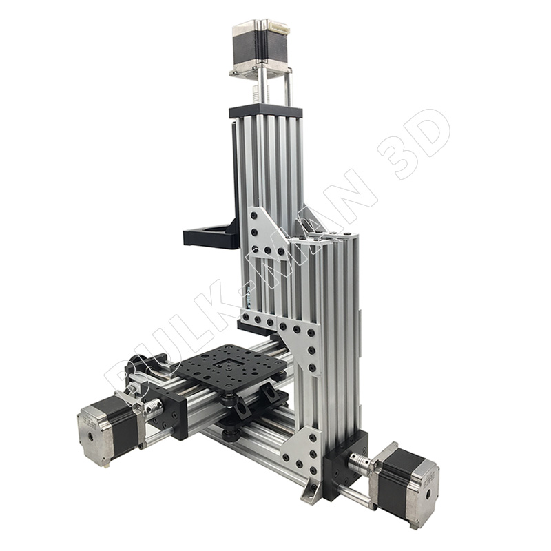 Image 5 - Free Shipping MiniMill CNC Machine Mechanical Kit 3 Axis Desktop MiniMill CNC Kit with 175 oz*in Nema 23 stepper motors3D Printer Parts & Accessories   -