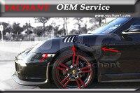 Carro-Styling Acessórios Auto Bodykits FRP Fibra de Vidro Frontal Fender Fit For 2009-2012 911 997 991-GT3-RS-Style Frente Fender