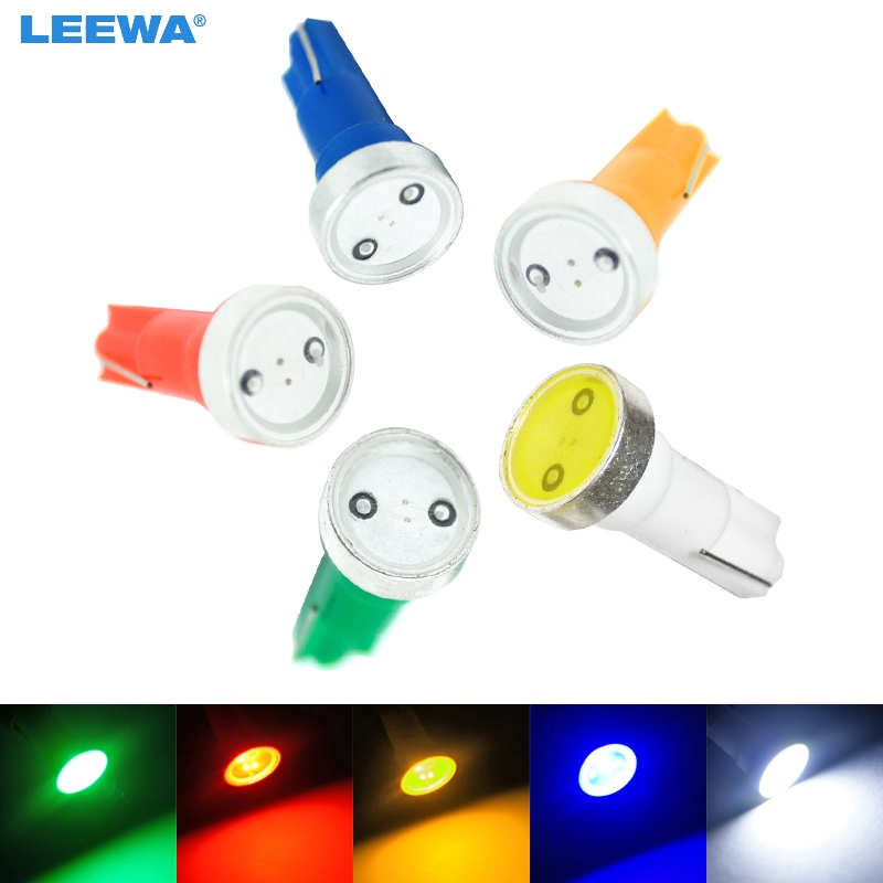 ツ)_/¯Leewa 100 unids Super T5 potencia 1 W 1led luz LED cuña del ...