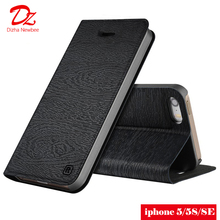 case for apple iphone 5 5s SE PU leather magnetic cover card pocket wallet case for iphone 5 5S SE Flip case цена