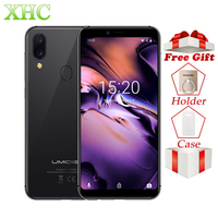 Global UMIDIGI A3 5.5 HD+ RAM 2GB ROM 16GB Smartphone Quad Core Android 8.1 12MP+8MP Face Unlock Dual SIM 4G Mobile Phone Gift