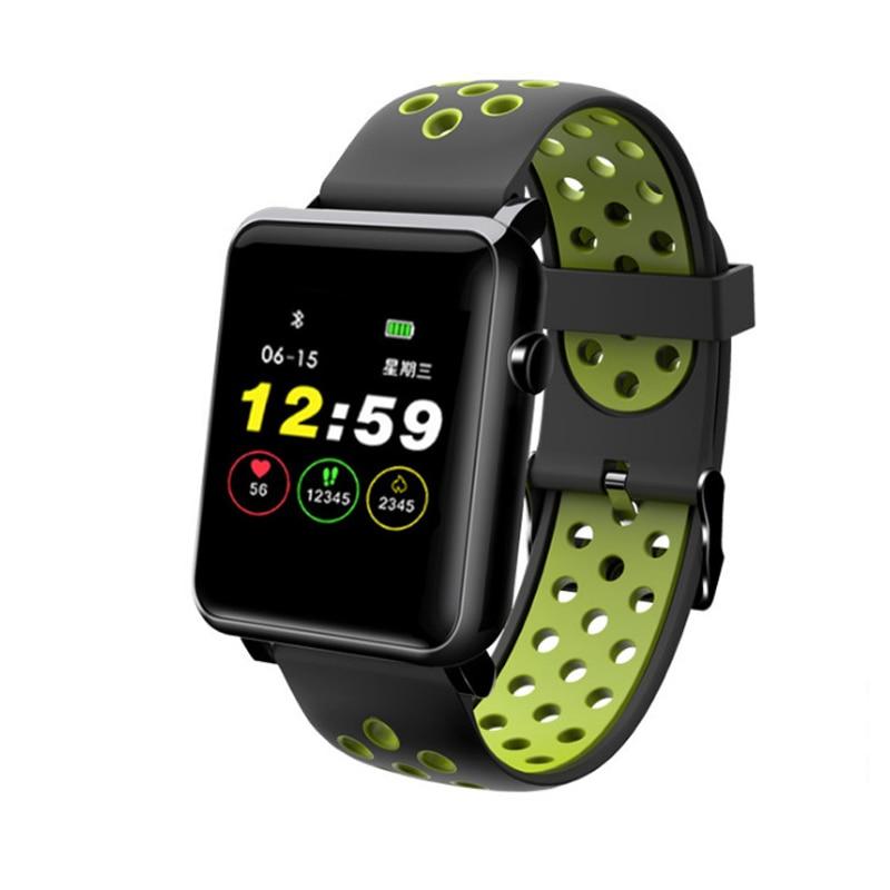 Bracelet de sport intelligent personnalisable papier peint couleur écran Fitness fréquence cardiaque surveillance Message temps ceinture intelligente